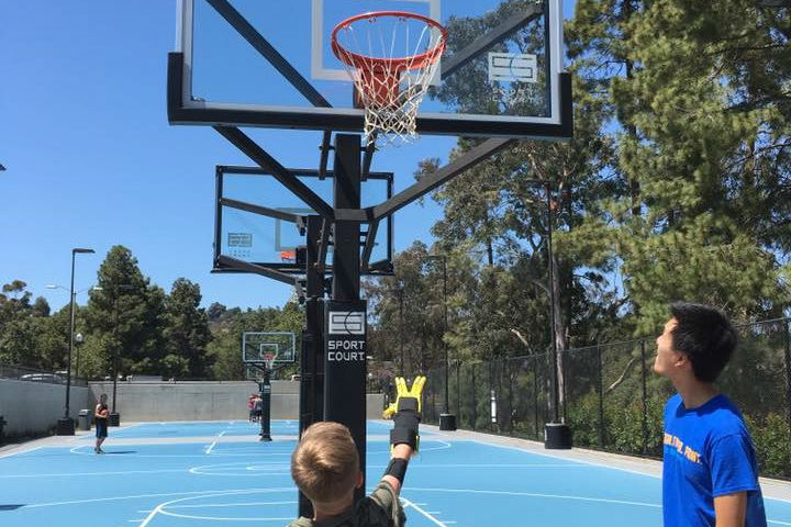 Kid Basketball Hoop Video