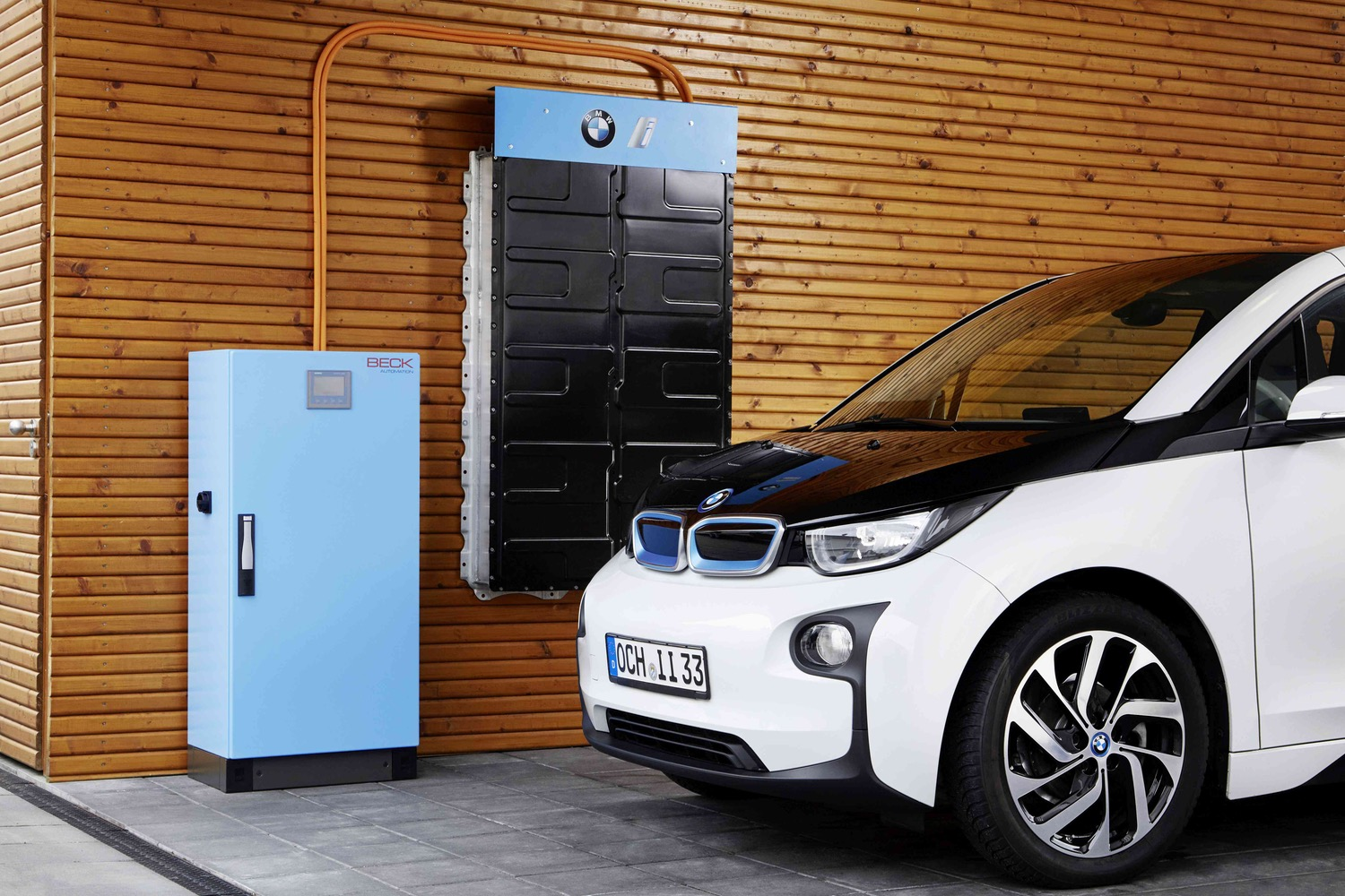 soon, you'll be able to use bmw i3 batteries to power your house