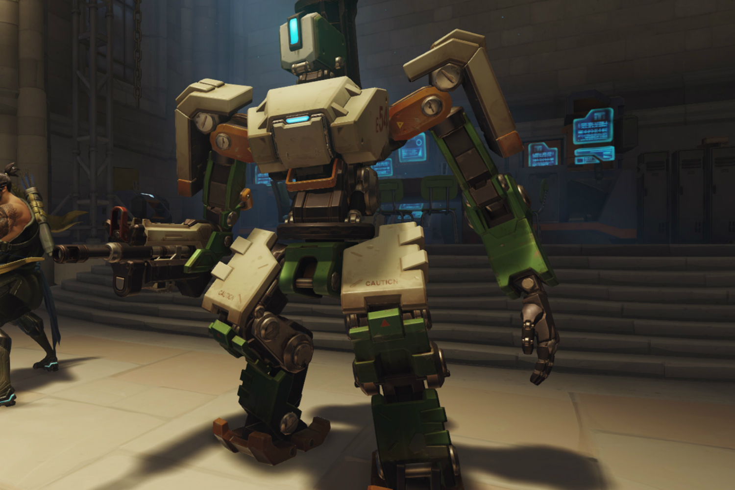 Take cover: 'Overwatch' hero Bastion is getting some big ...