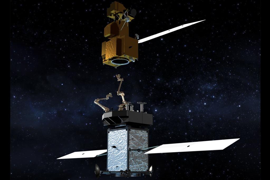 NASA's long-armed robot will refuel and repair satellites ...