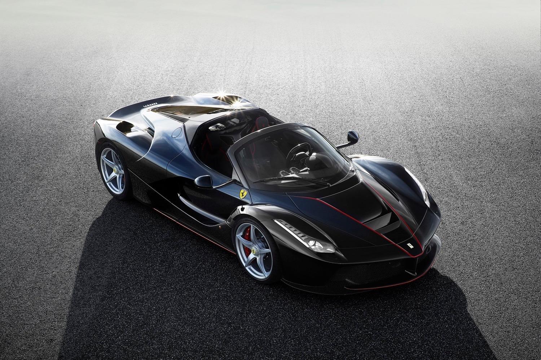 Ferrari Gives Us A Glimpse Of The Convertible Laferrari