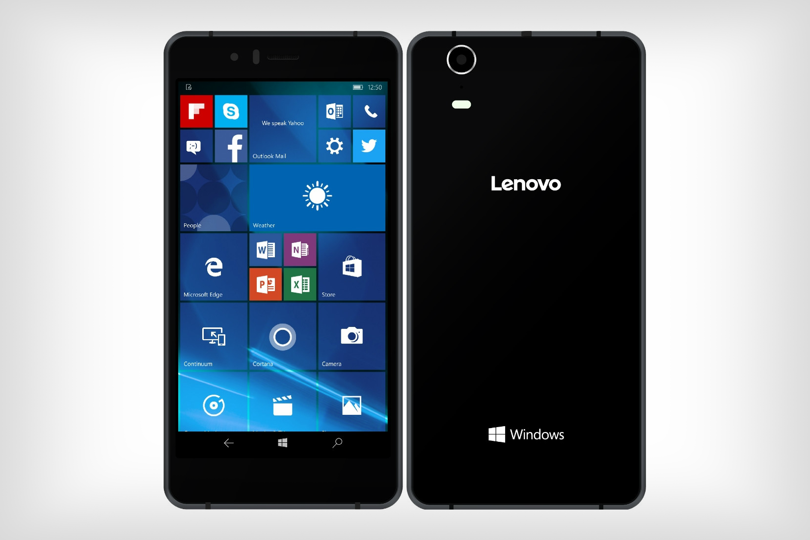 after four years lenovo finally unveils its first windows 10 mobile phone. Black Bedroom Furniture Sets. Home Design Ideas