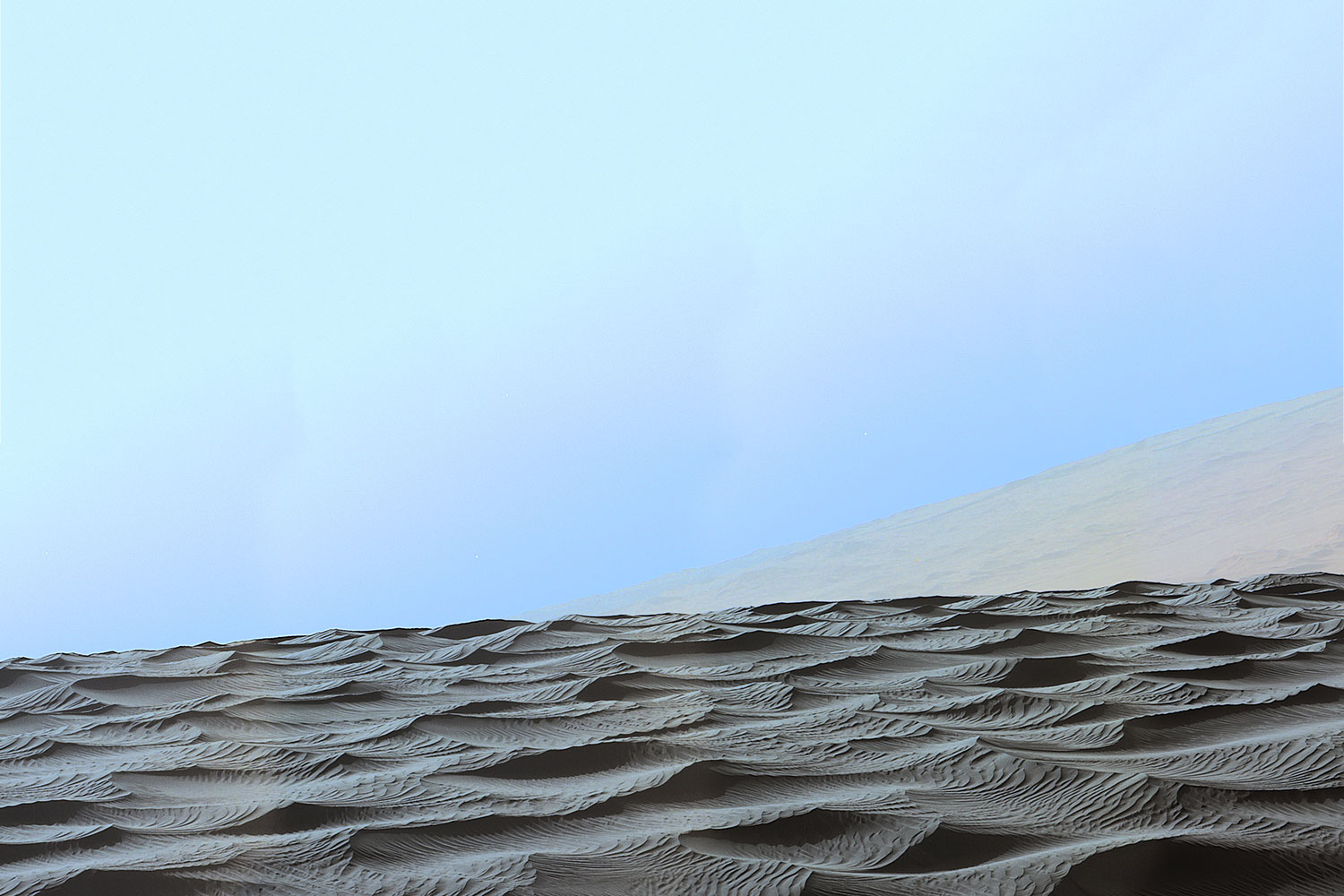 Only On Mars Why The Odd Dunes Spotted By Curiosity Can T Occur On Earth