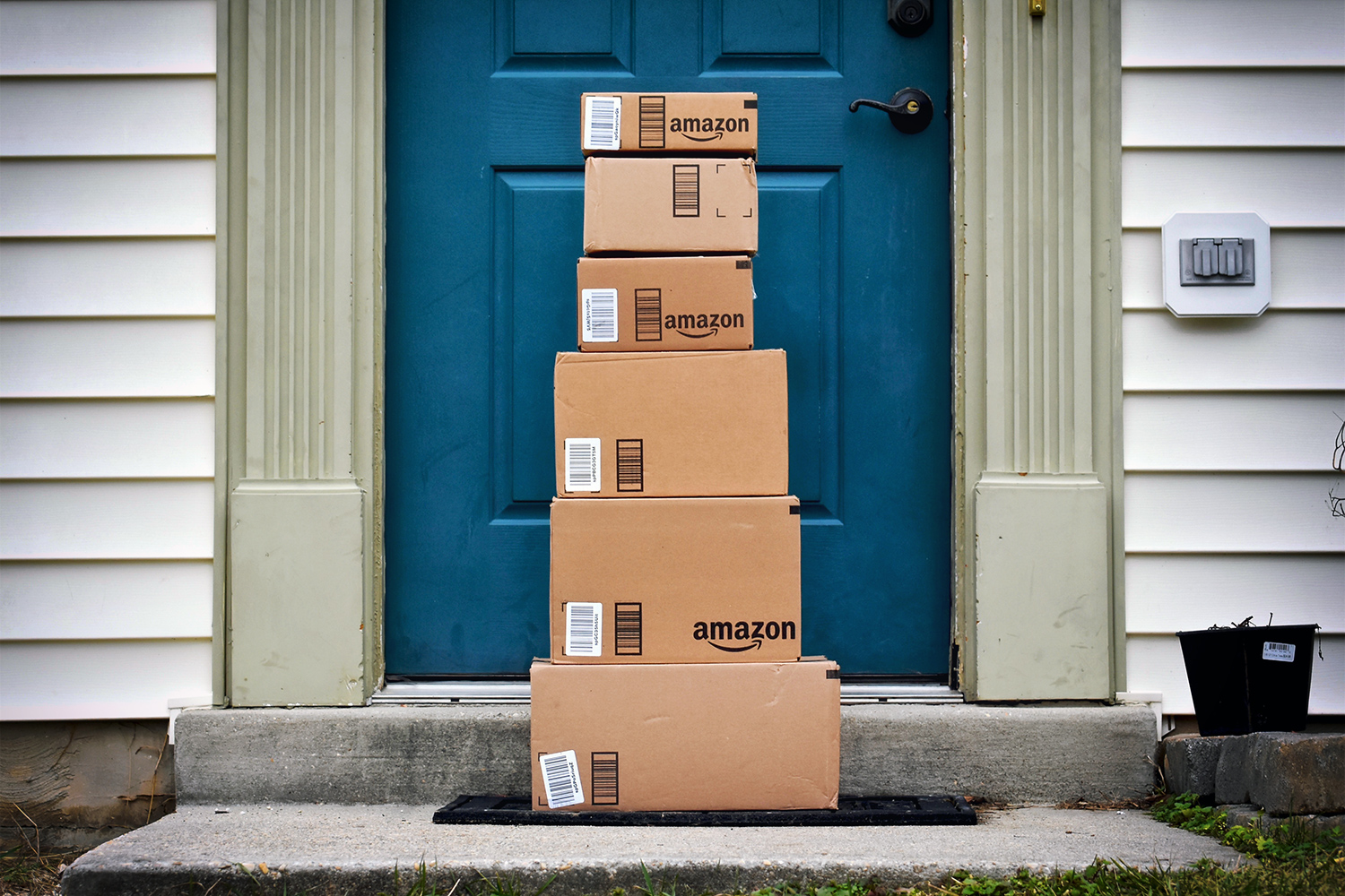 amazon prime packages & Would you like your Amazon Prime delivery left inside your door? Pezcame.Com