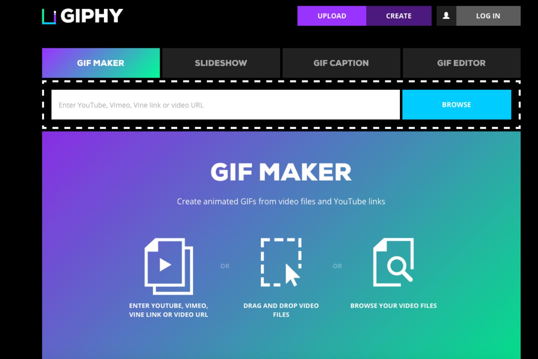 Mobile gif guide make animated gifs on your phone - Giphy Screenshot 1