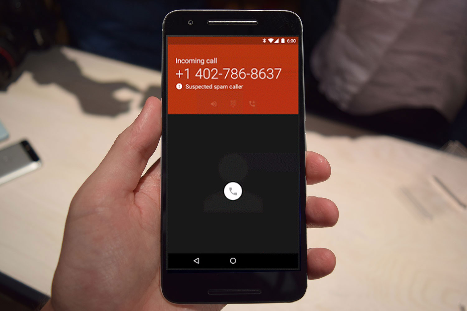 Phone Google Phone Call Android spam detection rolls out to nexus and android one phones digital google phone app call header