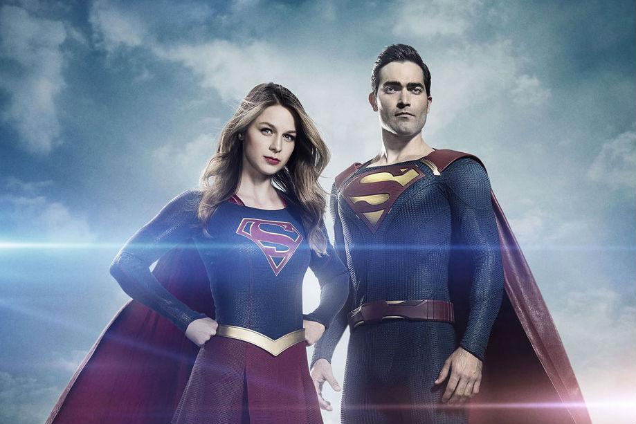 Resultado de imagem para supergirl e superman serie