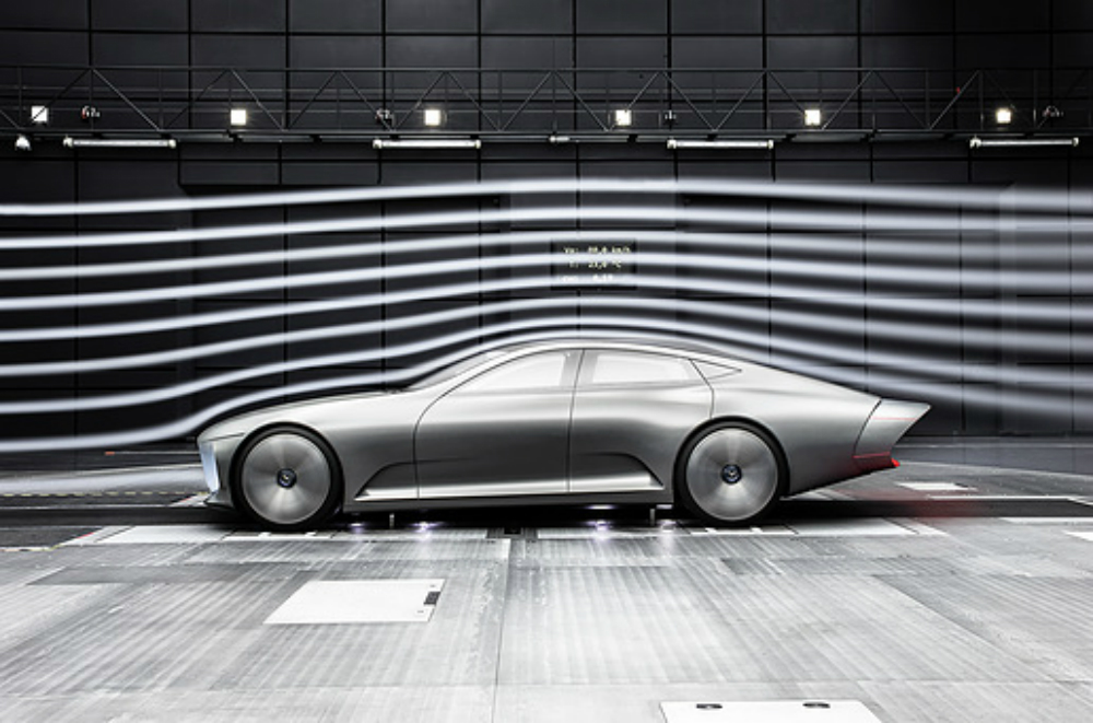 Mercedes to maximize electric car driving range with for Mercedes benz concept electric car
