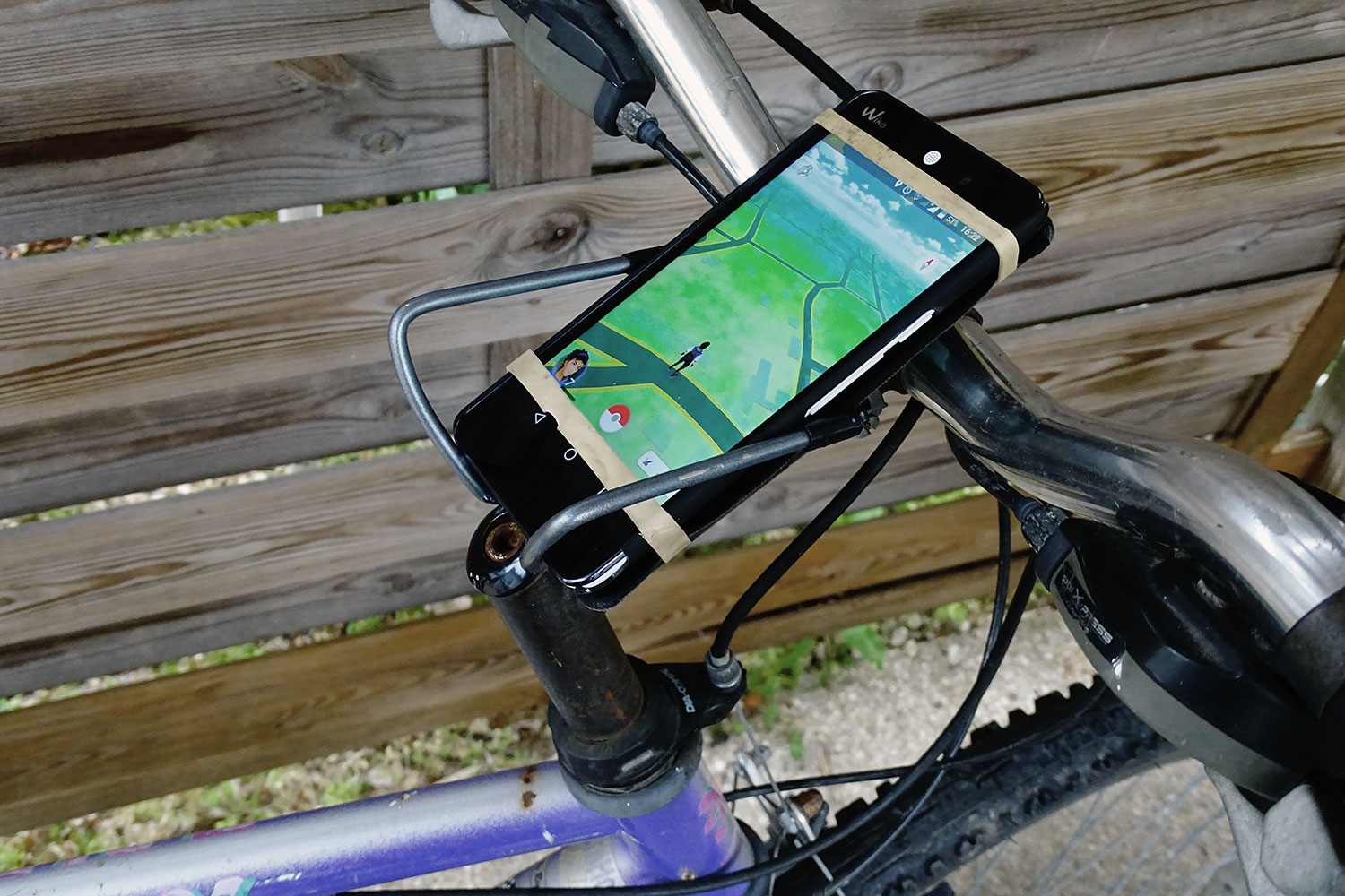 weekend workshop diy bicycle phone mount