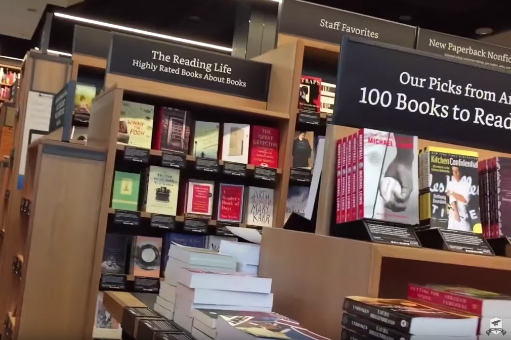 Amazon to add to its chain of bookstores