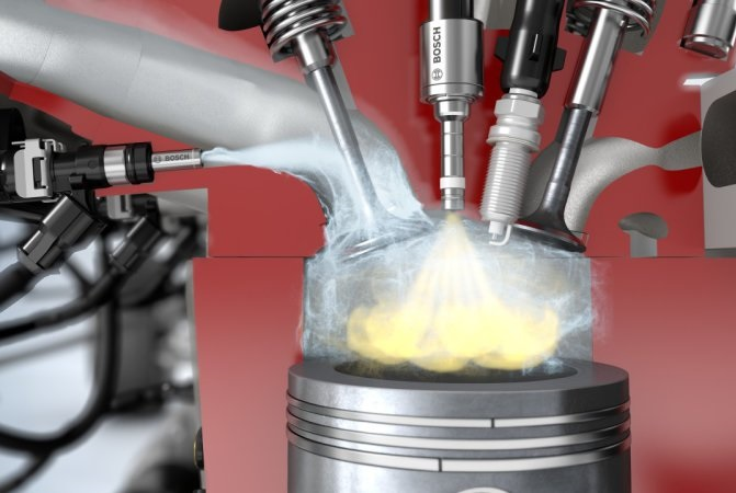 How A Fine Spray Of Water Can Help Automakers Build Cleaner Engines