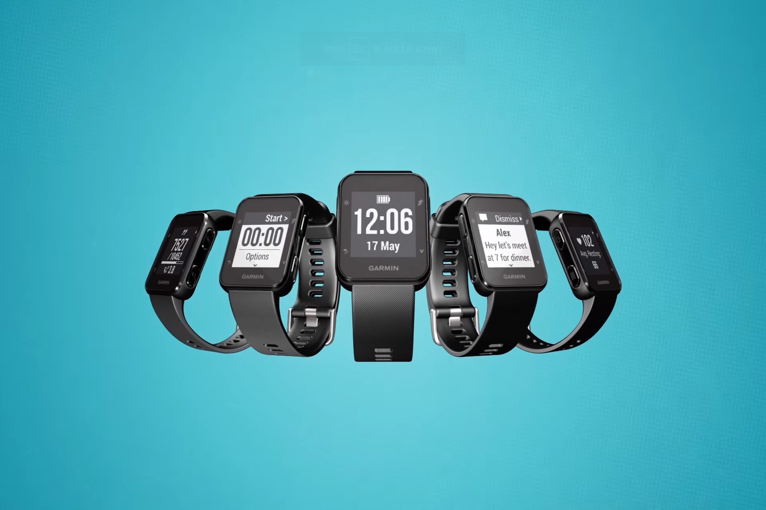 Garmin Connect Mobile App >> Garmin's new Forerunner 35 is a long-lasting, water-resistant fitness tracker