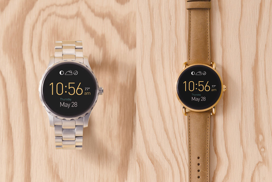 Fossil's new Android Wear smartwatches are up for pre-order