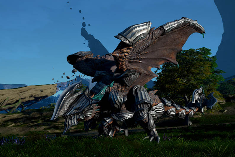 Scalebound Allows Players To Customize And Control Their Dragons