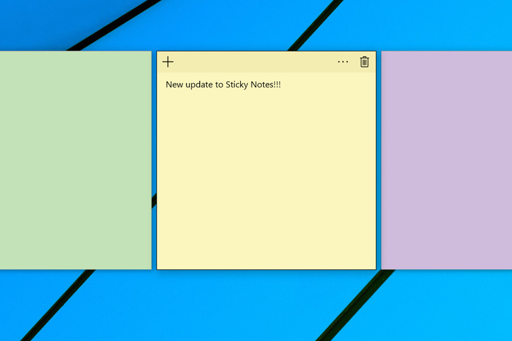 How to use the Sticky Notes app in Windows 10 to remind ...