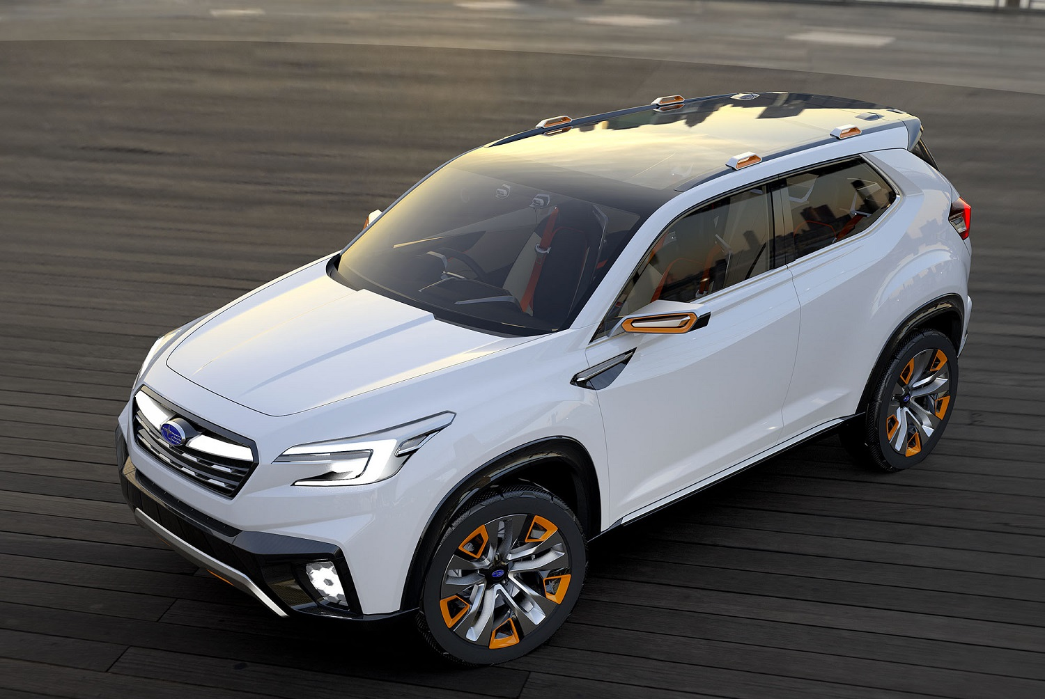 Subaru is going green, and we're not talking about paint