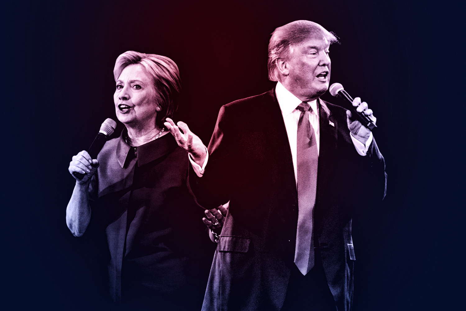 Clinton goes after Trump's weakness: His famously thin skin