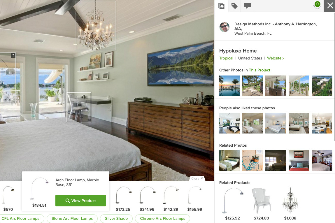 Find Furniture That Suits Your Style With Houzzu0027s New Visual Match Tool