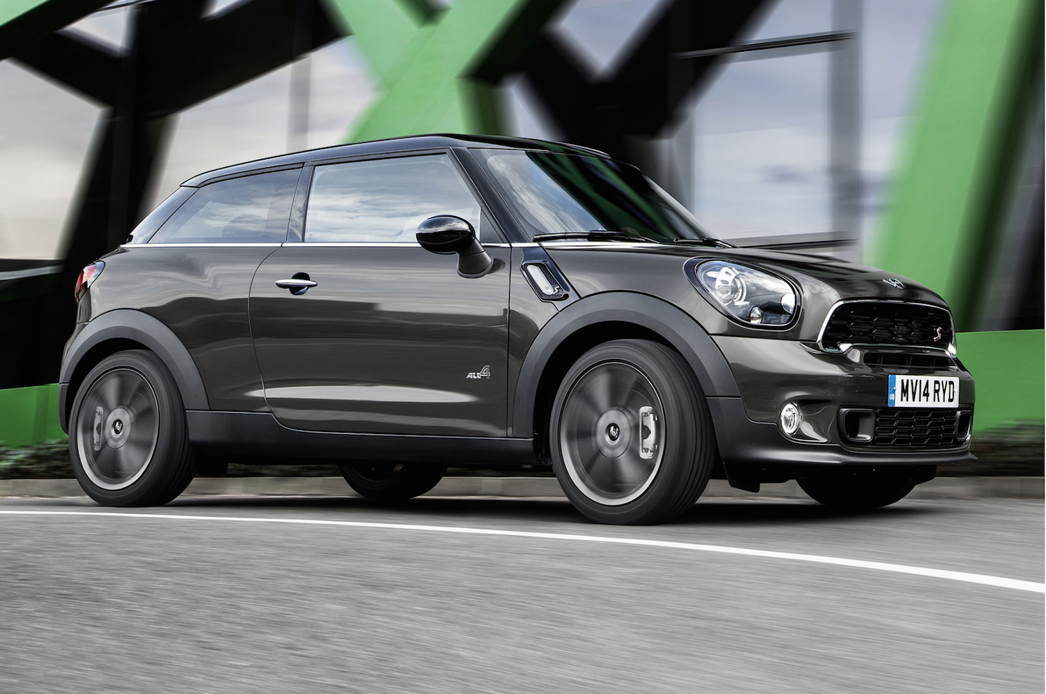 mini will kill off the quirky paceman to make room for the new bmw 5 series. Black Bedroom Furniture Sets. Home Design Ideas