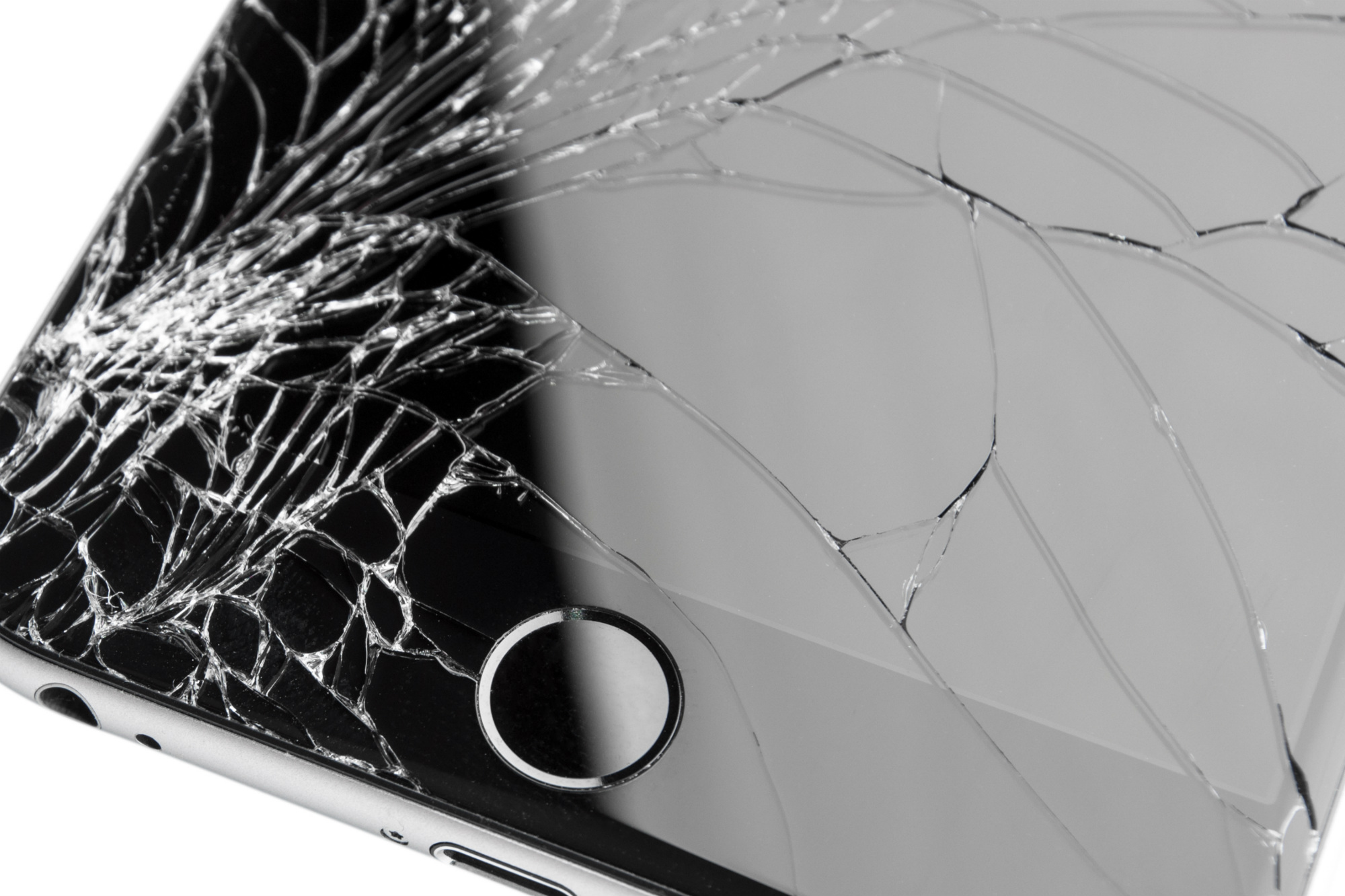 3 mobile cracked screen