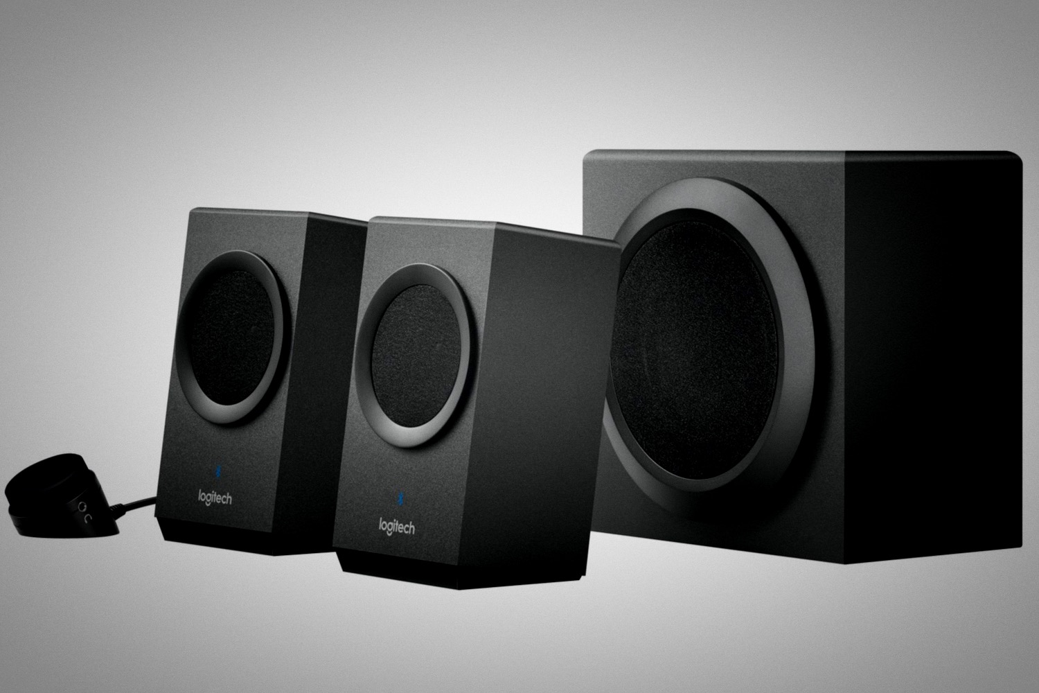 logitechs computer speakers  play   wirelessly   device