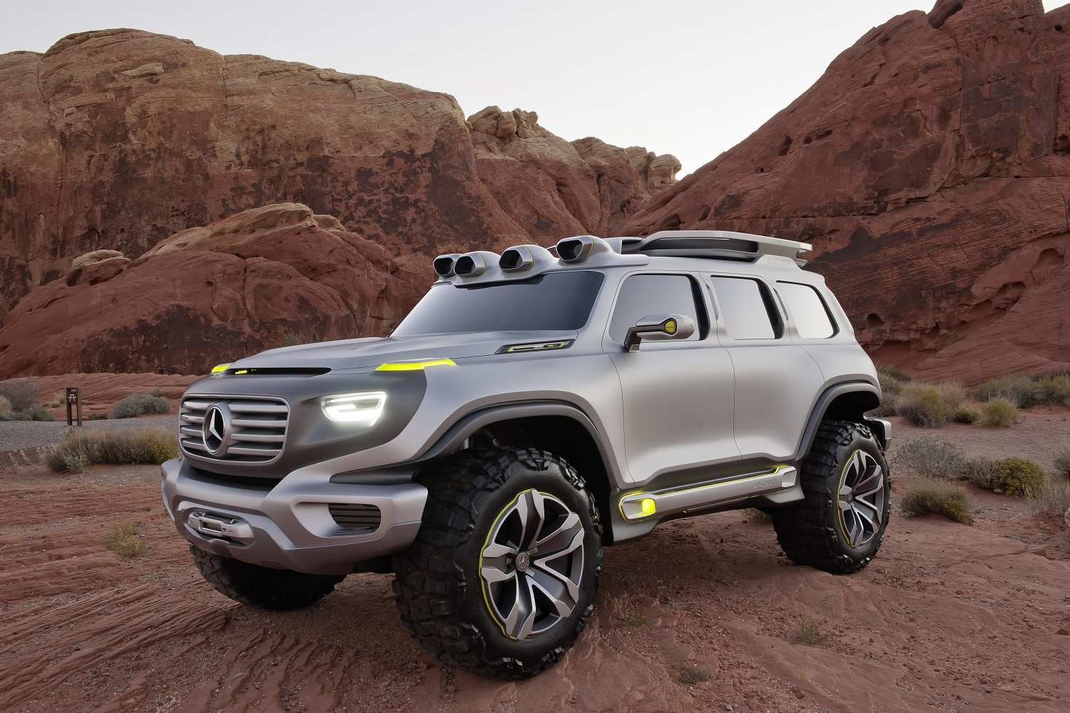 mercedes benz might expand its crossover family with a shrunken g class. Black Bedroom Furniture Sets. Home Design Ideas