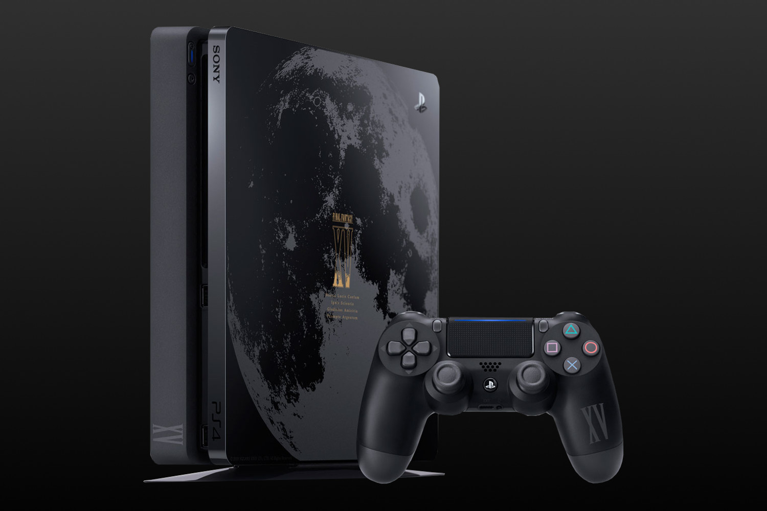 Square enix unveils limited edition final fantasy xv playstation 4 - Ps3 limited edition console ...
