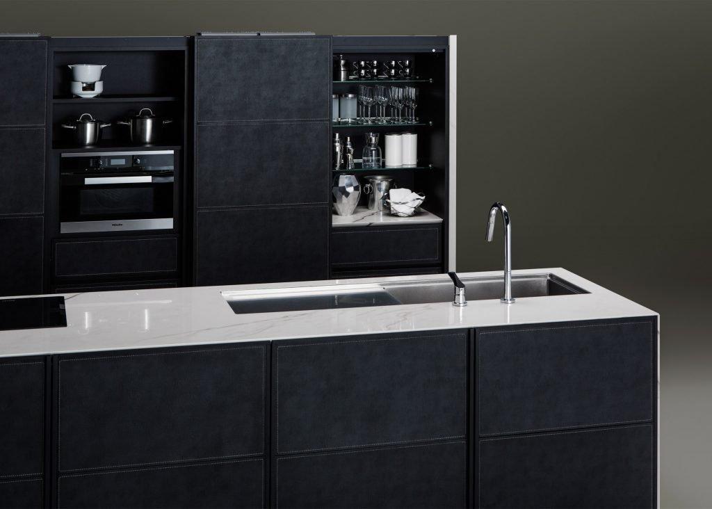 Japanese kitchen manufacturer unveils minimalist units for for Lifestyle kitchen units