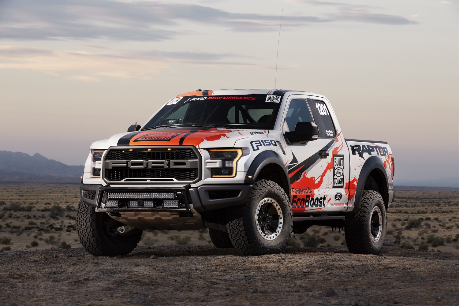 Ford's 2017 F-150 Raptor will be put to the test in the Baja 1000