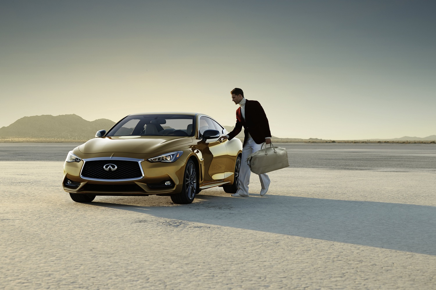 Infiniti's Q60 coupe gets a spot in the Neiman Marcus Christmas Book