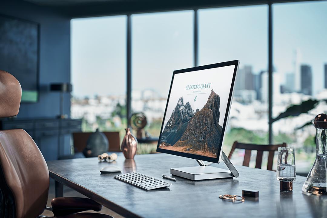 Surface studio vs hp envy all in one spec comparison for Bureau 3d windows 10