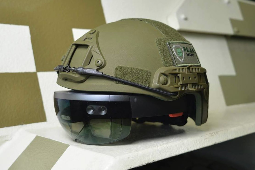 Ukrainian Military Testing Hololens Equipped Headsets To