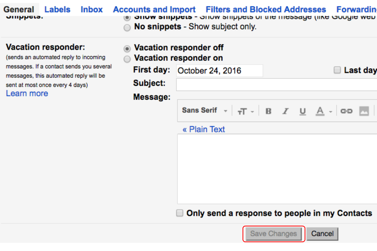 how to send message in gmail