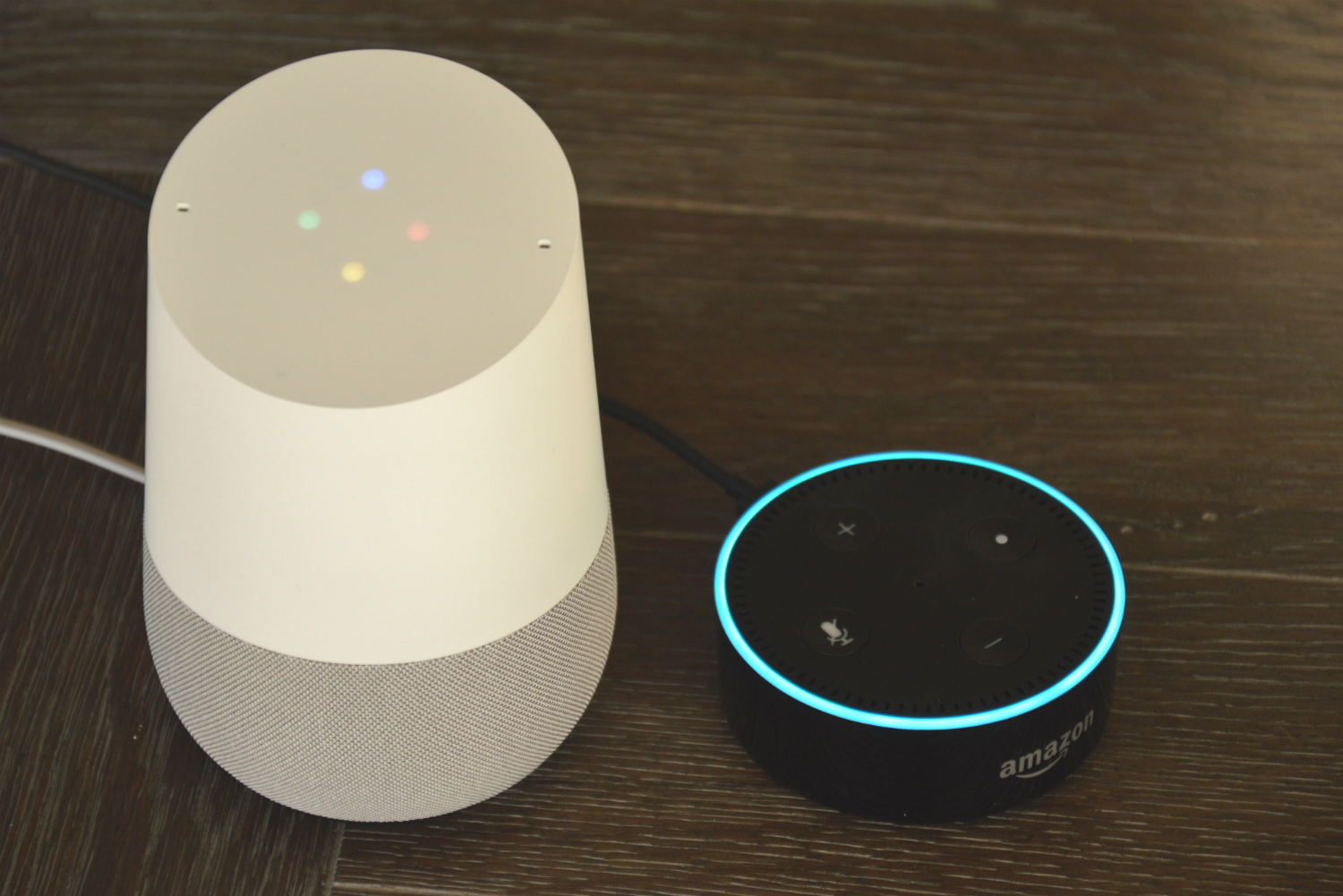 Amazon S Alexa And Google Home Answer Questions Esist