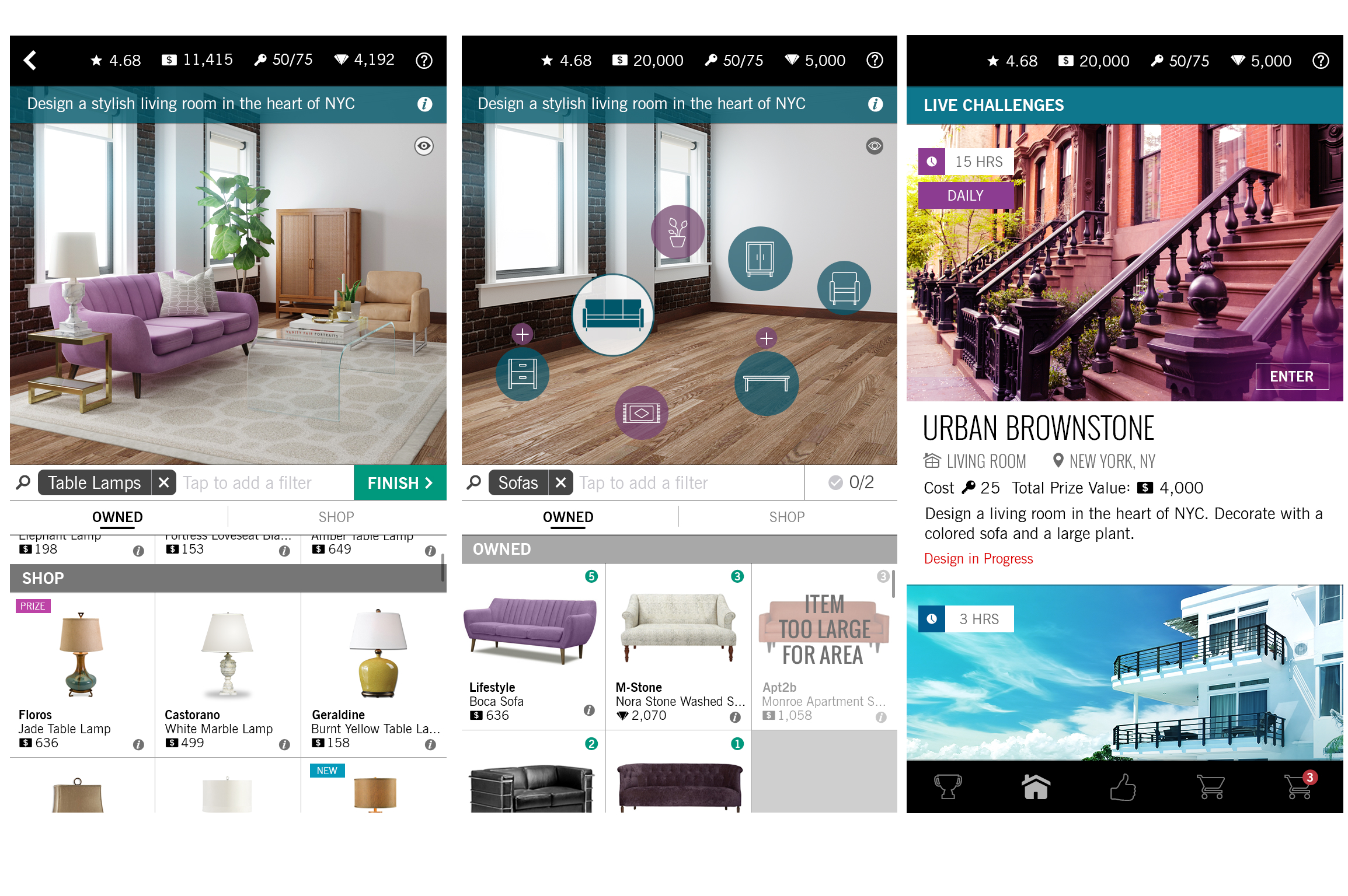 Design Home Lets You Play Interior Decorator With Expensive - Room design app