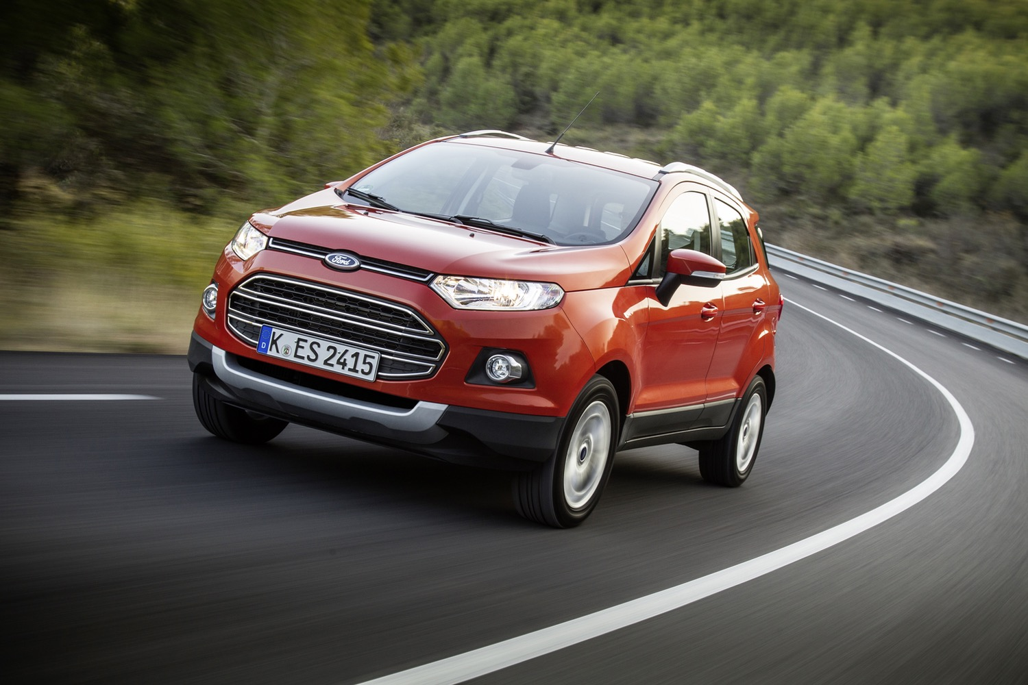 New Ford EcoSport compact SUV revealed in LA