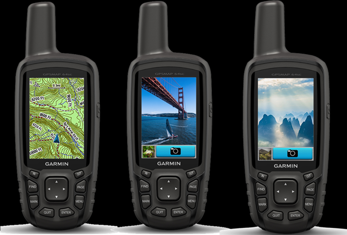 Garmin GPSMAP 64sc adds camera with geotagging and flash ...