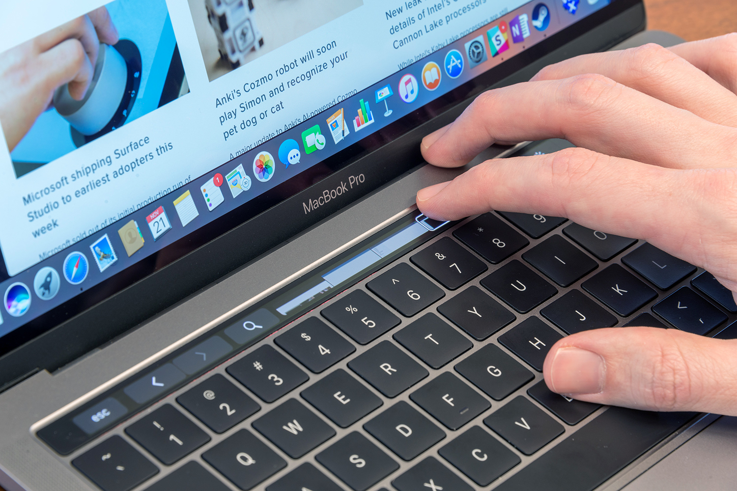 MacBook Pros with Touch Bars banned from law exams