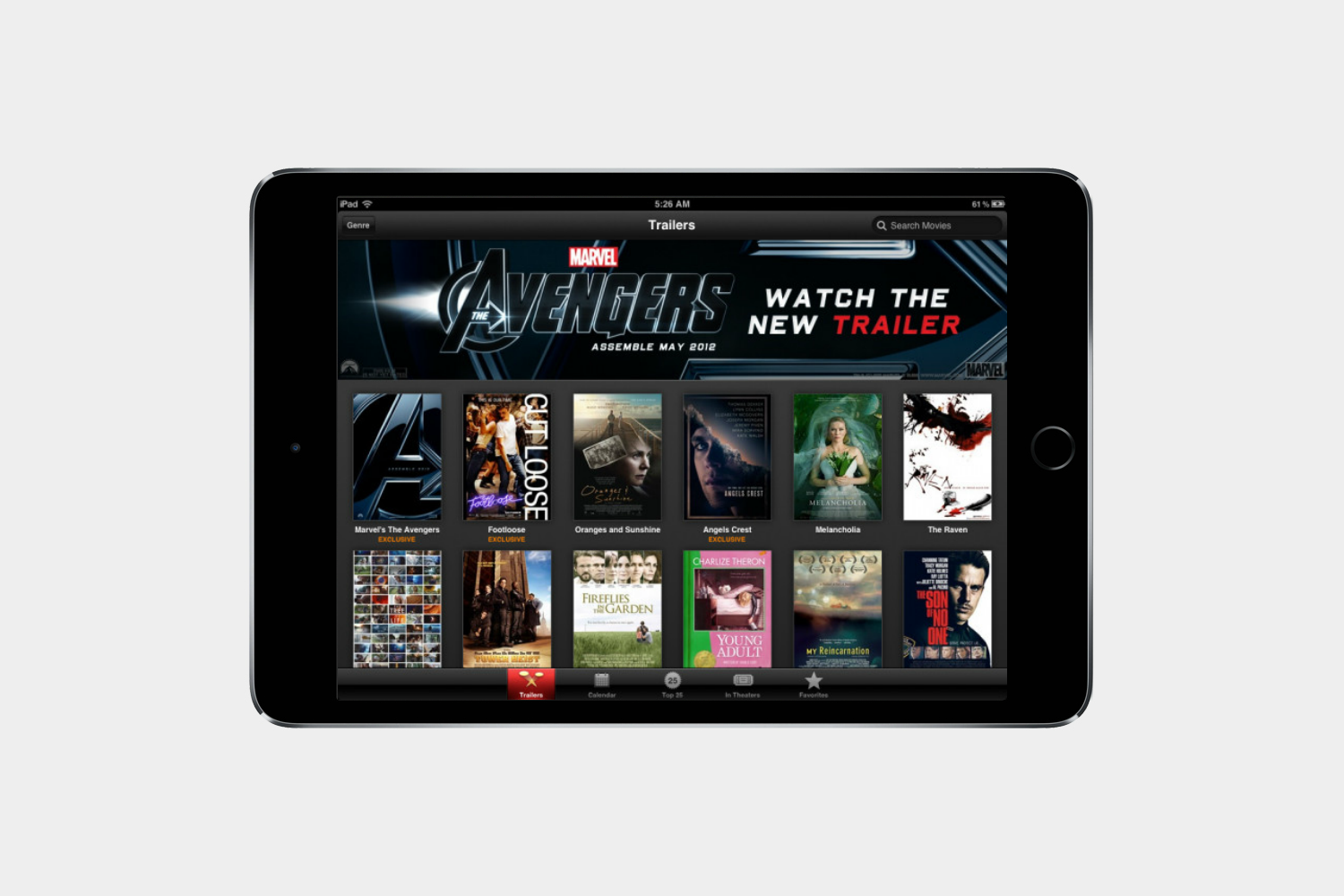 how to watch movies on ipad itunes