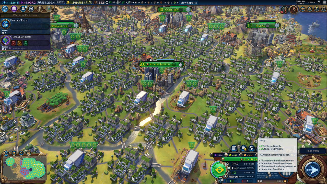 Civilisation  Buildings Mod
