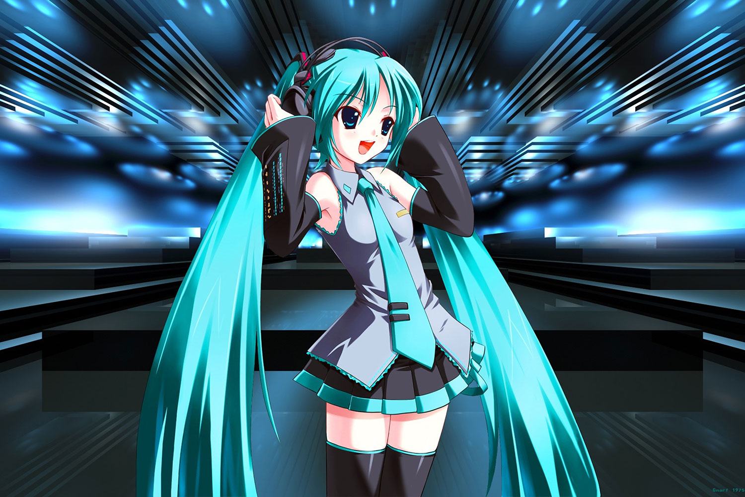 hatsune miku 3d wallpaper android