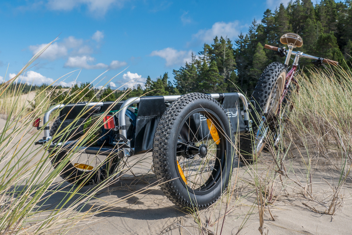 Burley S Fat Tire Conversion Kit Turns Your Bike Trailer