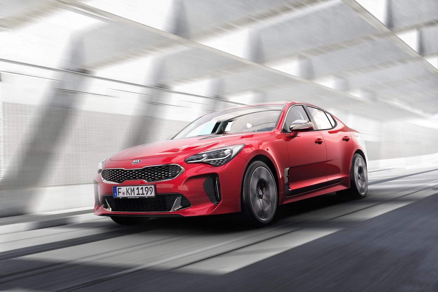 New Kia Stinger sports saloon revealed