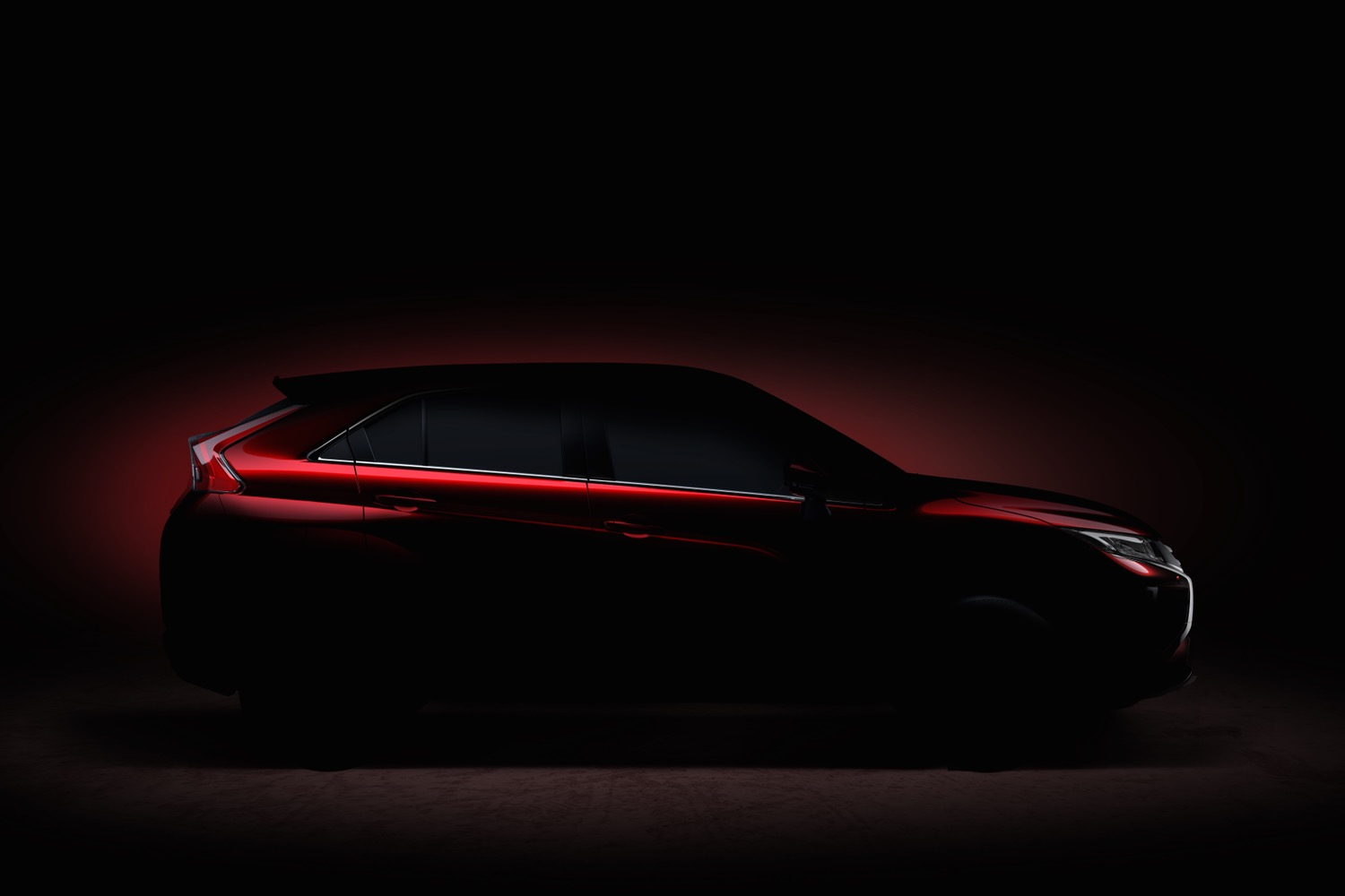 Rumored Mitsubishi Eclipse Teases Before 2017 Geneva Auto Show Appearance