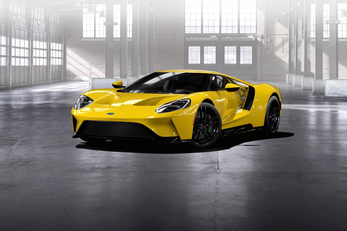 Ford GT Has 647 hp, 550 lb-ft of Torque