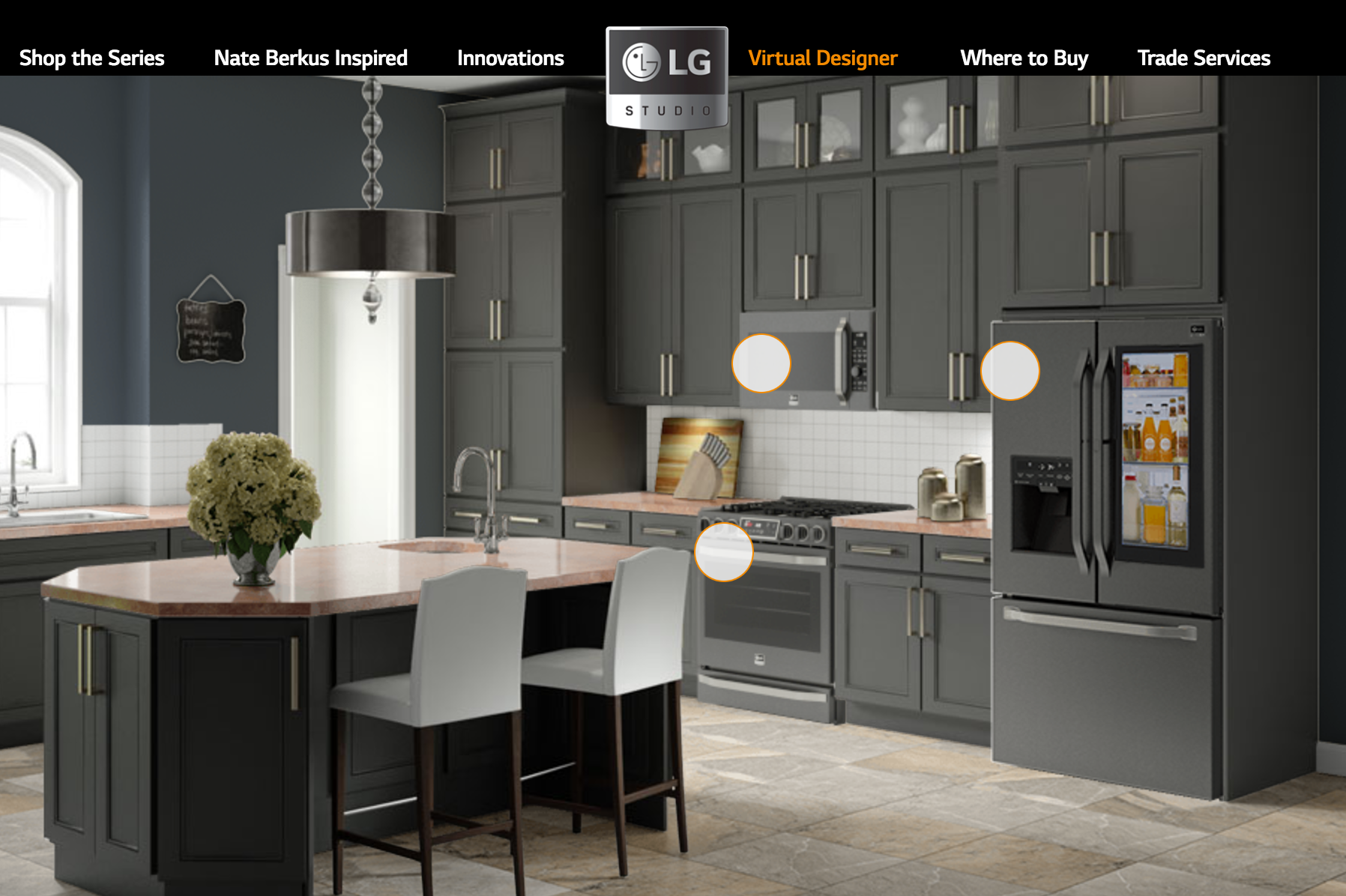 lg wants you to build your kitchen around its appliances with its