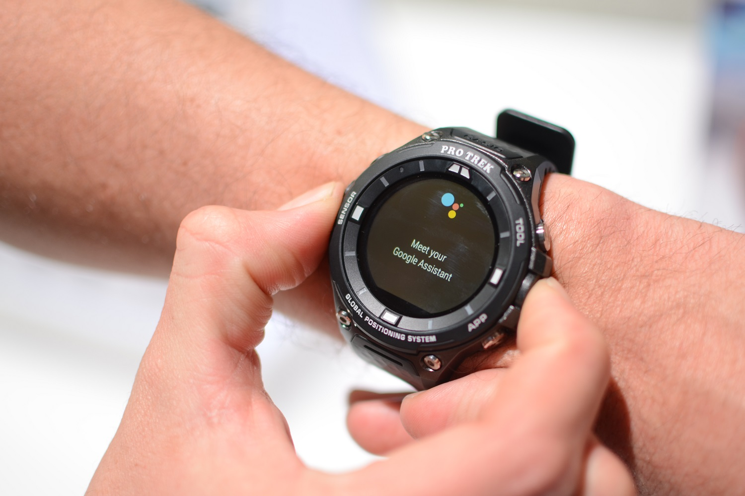 Casio WSD-F20 official with rugged design, Android Wear 2.0