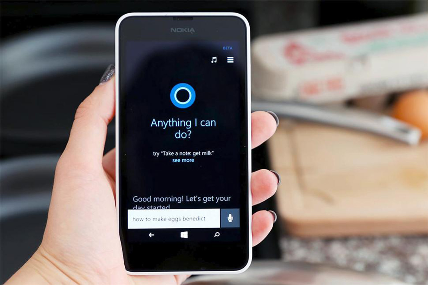 Worlds collide as cortana makes its way to the android for Mobel lossek