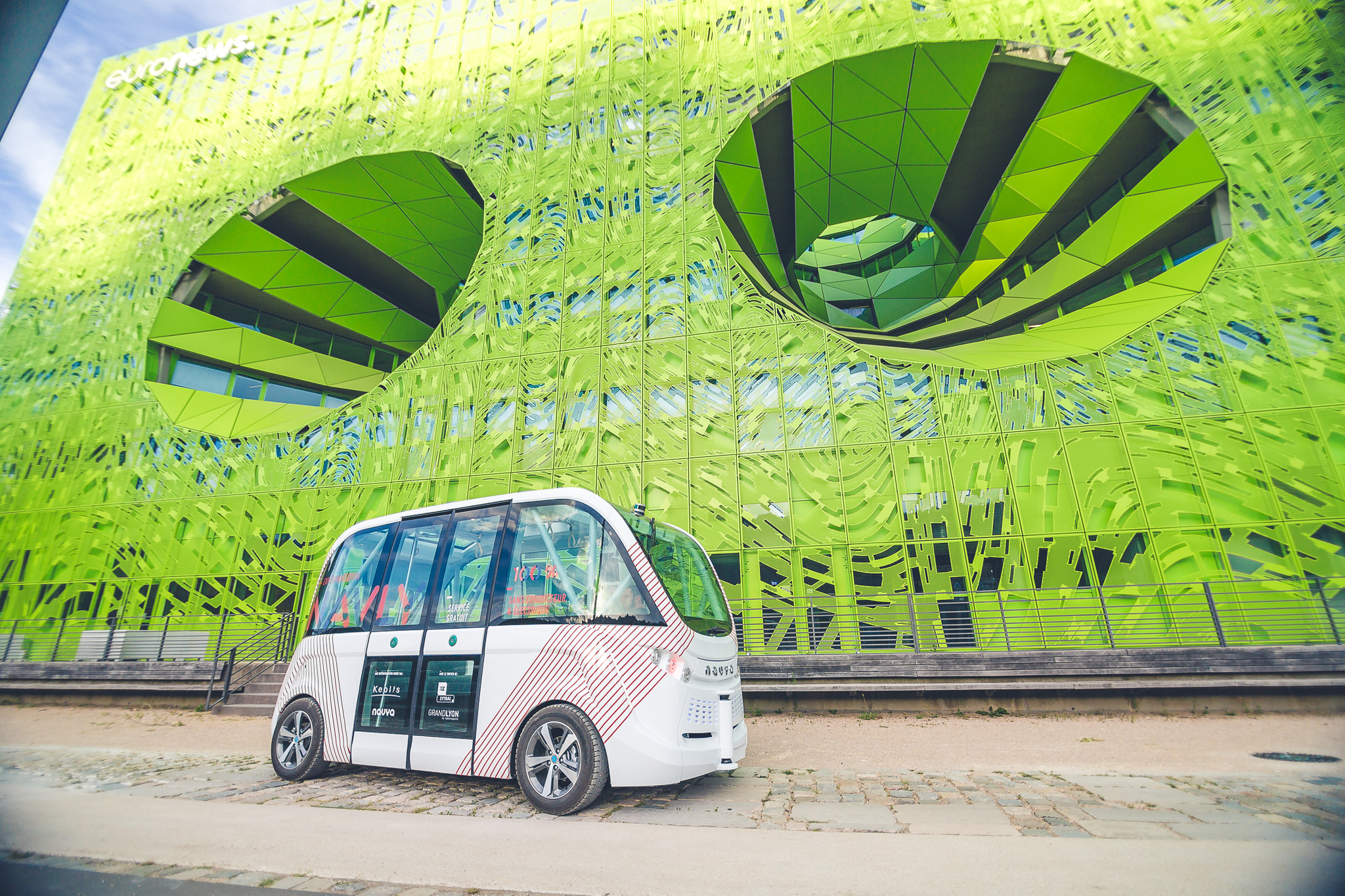 Las Vegas is testing autonomous shuttles this week