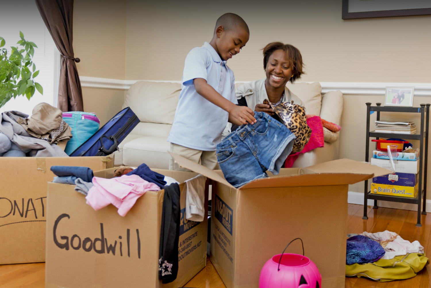 Free local Goodwill donation pickup and delivery with Roadie on